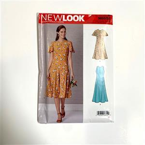 New Look Misses' Fit & Flared Dress Sewing Pattern