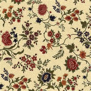 Moda Prairie Dreams in Cream Floral Fabric 0.5m