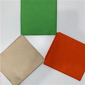 Lime & Orange FQ Pack - 3 Pieces
