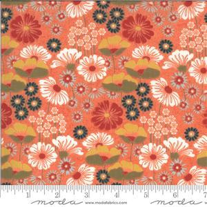 Moda Cider Floral Pink Fabric 0.5m