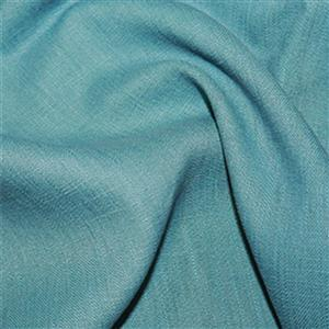 Teal Enzyme Washed 100% Linen Fabric 0.5m