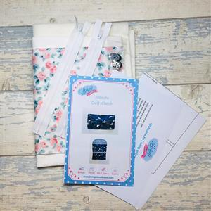 Living in Loveliness - Liberty Rose Craft Clutch Kit