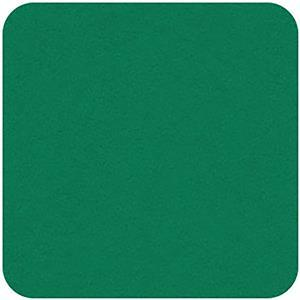 "Felt Square in Viridian 22.8x22.8cm (9x9"")"