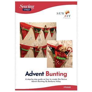 Barbara Mclay Christmas Bunting Instructions