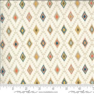 Moda Cider White Diamond Multi Fabric 0.5m