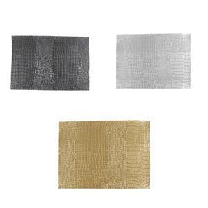 Early Bird Special - 3 x Synthetic-Leather, Gold, Silver & Gunmetal 7x10.5in