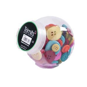 Button Jar Brights Mix
