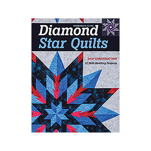 Diamond Star Quilts Book by Barbara H. Cline