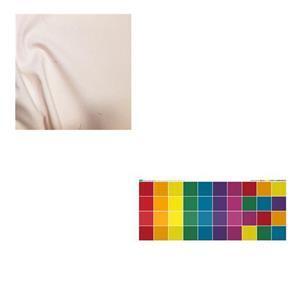 Rainbow Cheerful Carrier Bundle: Fabric Panel & Fabric (2.5m)