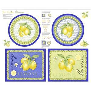 Just Lemons Bunched Lemons Panel 0.9m