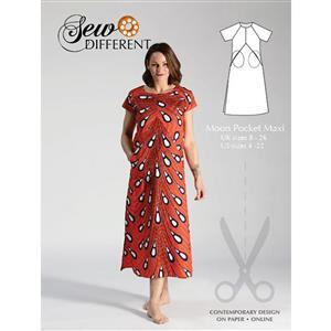 Sew Different Moon Pocket Maxi Sewing Pattern: Sizes 8-26