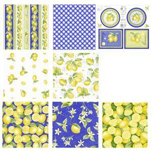 Just Lemons Mega Bundle Panel & Fabric (3.5m)
