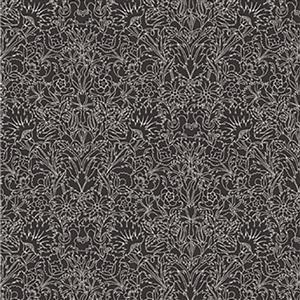Liberty Emporium Collection Tudor Turner Black Fabric 0.5m