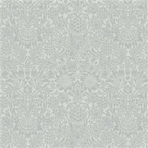 William Morris Mineral Light Green Floral Fabric 0.5m
