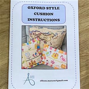 Allison Maryon's Oxford Cushion Instructions
