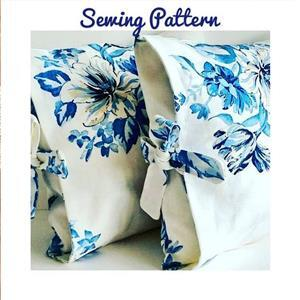 Helen Newton Tied Cushion Cover Instructions