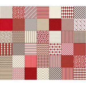 Dan Morris Monkey Biz Geo Multi Fabric 0.5m