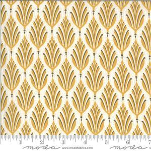 Moda Cider Yellow Apple Leaf Fabric 0.5m