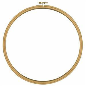 "Wooden Embroidery Hoop 24cm (9.4"")"