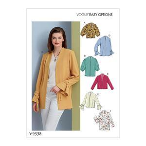 Misses' Jacket Sewing Pattern Sizes 6-14