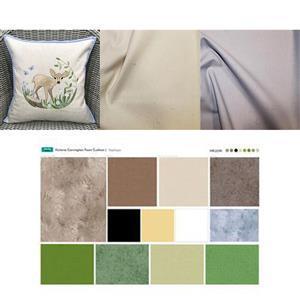Victoria Carrington's Fawn Applique Cushion Kit: Instructions, Fabric (1m) & Panel