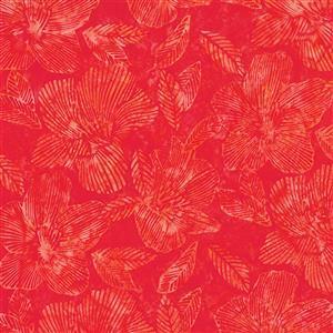 Bali Handpaints in Red 0.5m