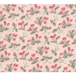 Moda Daybreak Fruitful on Blush Fabric 0.5m