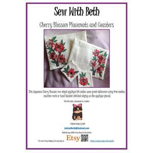 Sew with Beth Cherry Blossom Tableware Pattern