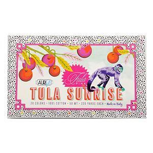 Sunrise Aurifil Thread Box by Tula Pink 20 x 50wt Spools