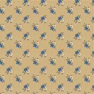 Riley Blake Delightful Heather Gold Fabric 0.5m