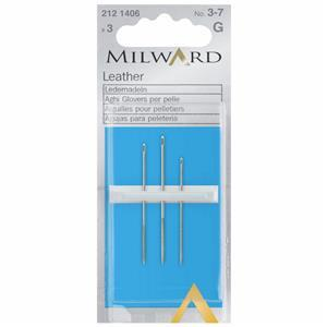 Hand Sewing Needles - Leather - Nos 3-7 (3 Pieces)