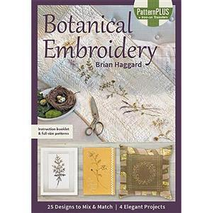 Botanical Embroidery Book by Brian Haggard