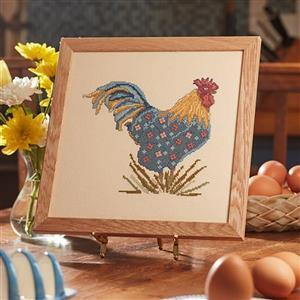 My Flowery Chicken in Linen