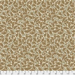 William Morris Orkney Oak Linen Fabric 0.5m