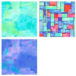 Stained Glass Fabric Bundle (1.5m)