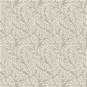 William Morris Mineral Light Grey Forest Fabric 0.5m
