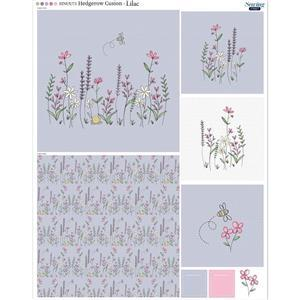 Hedgerow Cushion Lilac Fabric Panel 70x93cm