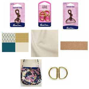 Copen Summer Crazy Patchwork Bag Kit: Instructions, FQ Fabric Panel,Fabric (1.5m) & Haberdashery