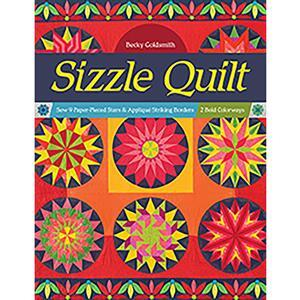 Sizzle Quilt Book by Becky Goldsmith