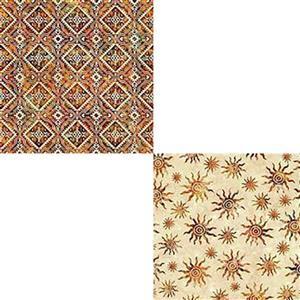 Under £15 Dan Morris South West Reflections Autumnal Sun Fabric Bundle (1m)