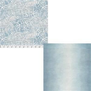 Light Blue Ocean Walks Fabric Bundle (1m)