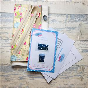 Living in Loveliness - Hexies Craft Clutch Kit