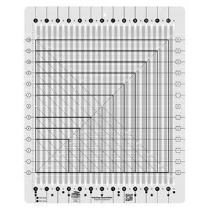"Creative Grids® Non-Slip Stripology Squared Ruler 31.7cm (12½"")"