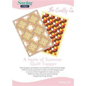 The Crafty Co. A Taste of Summer Quilt Instructions