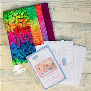 Living in Loveliness Fabulously Fast Fat Quarter Fun Issue 6 - Love to be Organised - Bright Butterfly