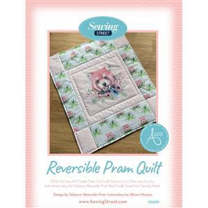 Allison Maryon's Reversible Pram Quilt Instructions