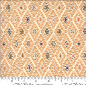 Moda Cider Orange Diamond Multi Fabric 0.5m