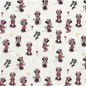 Disney Minnie Mouse Fabric 0.5m