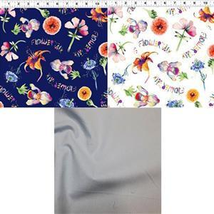 Flower Talk Pods Fabric Bundle (1.5m)