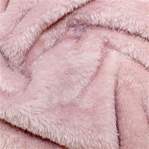 Rose Supersoft Fleece Fabric 0.5m